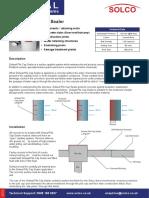 Solseal - Pile Cap Sealer Datasheet