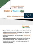 Urgent Tourist Visa for India – Indian e Tourist Visa