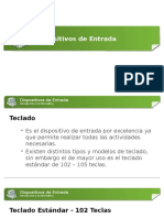 3. Dispositivos de Entrada