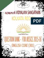 English Question Bank-FINAL