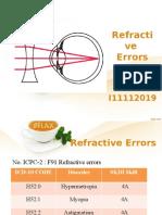 DT Refractive Errors