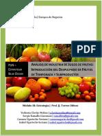 Estrategia Aplicada Industria Jugos Fruta.