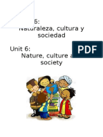 Nature, Culture & Society