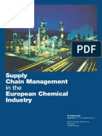 Supply Chain Management European Chemicals Industry