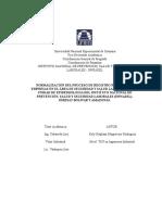 Normalizacion Registro Nacional (venezuela)