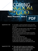 The Coming Kingdom of God (2014.11.23)
