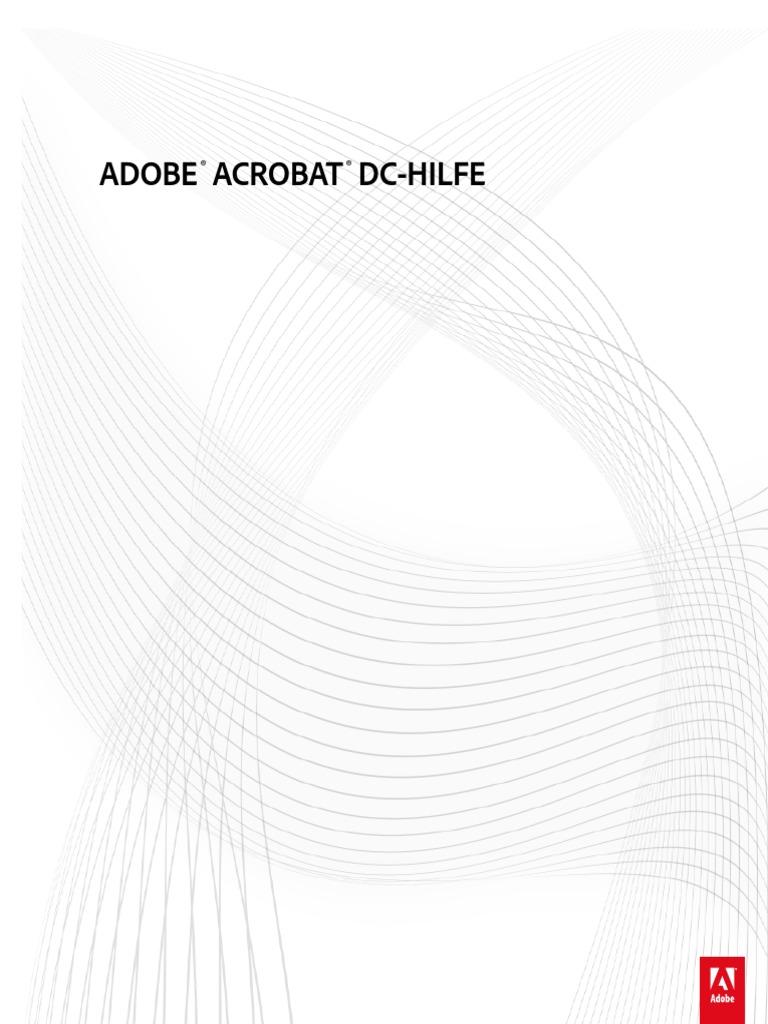 Acrobat Reference