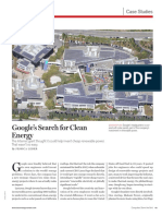 Google's Search for Clean Energy
