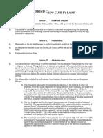 by-law amendments