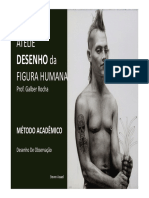 AULA-1 ADFH -ATELIE Desenho Da Figura Humana- Galber Rocha - 2016