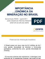 A Importancia Economic Da Mineração No Brasil
