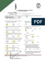 Examenes Bimestral 2016 II