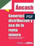 AncashGeneraciónDistribución y UsoRentaMinera