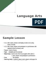 S6 Language Arts PPT Slides