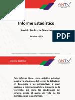 Informe Estadistico de Television