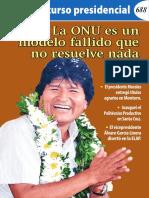 Discurso Presidencial de Evo Morales