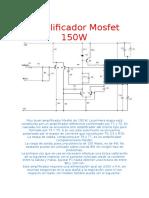 amplificador mosfet 150w.doc