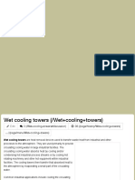 ChemEngineering - Wet Cooling Towers
