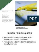 Pencarian Literatur