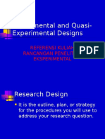 Research Designs REF