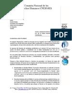 Carta al Presidente sobre Ley de Reforma Policial
