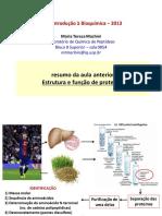 Estrutura e Função de Proteinas