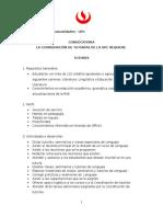 Convocatoria Para Tutores (UPC LENGUAJE 2016-2)