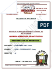 Quimica Analitica Cuantitativa Informe2