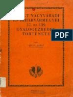 Bitto Dezso -Istoria Regimentului 37 Kuk Oradea Reduced