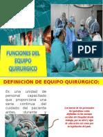 Funciones de Los Ps en Cirugia
