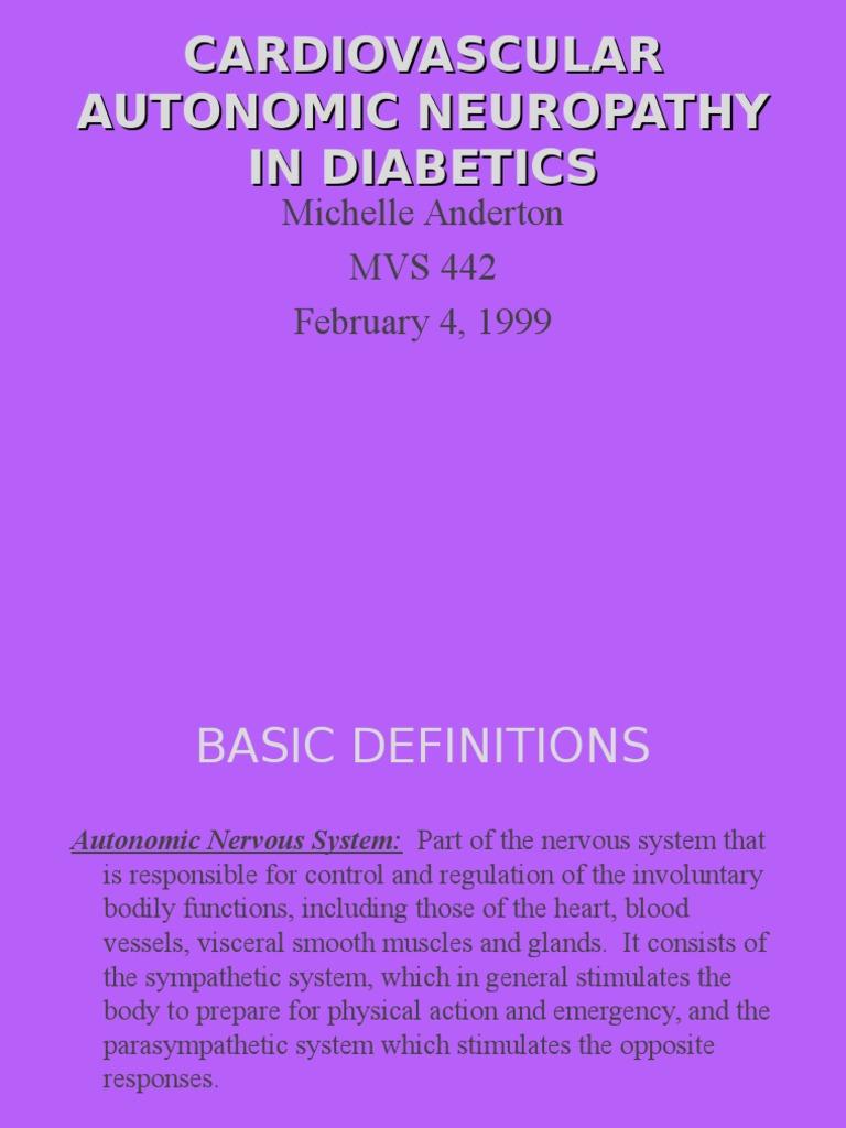 Cardiomiopathy Peripheral Neuropathy Diabetes Mellitus Type 2