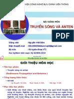 Truyền Sóng Và Anten-Nguyễn Viết Đảm