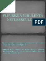 Pleurezia Pulmonara Non-tbc