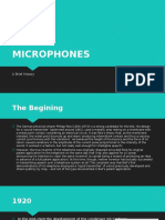 History of Microphones