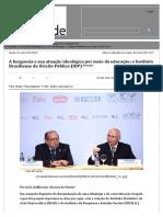 A Burguesia e Sua Atuação Ideológica Por Meio Da Educação_ o Instituto Brasiliense de Direito Público (IDP) - Diário Liberdade