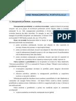 Curs Managementul Portofoliului 2014 Cap 7