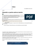 Quando a Parte Autora Mente - Jus Dúvidas Jurídicas - ID 54697 - Jus Navigandi