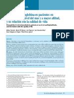 Nivel de Hb en Pacientes Con Hemodialisis