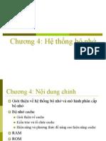 chuong 4-Kiến trúc máy tính