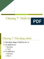 chuong 7-Kiến trúc máy tính