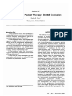 Non-Surgical Pocket Therapy Dental Oclusion