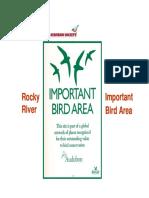 Rocky River IBA Outreach 2013