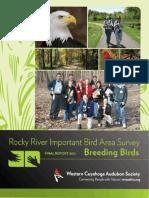 Rocky River IBA Report Final 2012