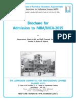 Brouchure MBA MCA 2015