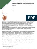 Diez Buenas Prácticas Administrativas Para La Supervivencia de Cualquier Organización