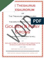 The Thesaurus Thesaurorum