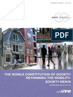 SODERSTROM the Mobile Constitution of Society Rethinking 2010