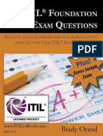 100 ITIL Foundation Exam Questions - ITILyaBrady