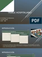 Triage Hospitalario Presentacion