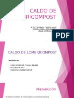 Caldo de Lombricompost